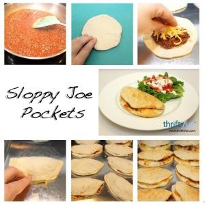 Sloppy Joe Pocket Recipes