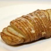 Garlic White Cheddar Potato Fans