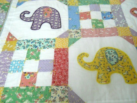 two elephant blocks and two 9 square blocks