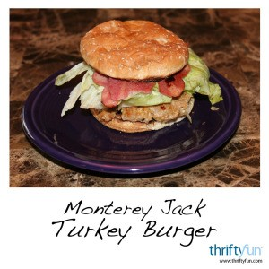 Monterey Jack Turkey Burger