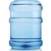 Plastic water jug.