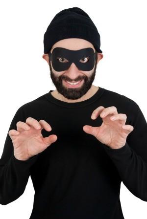 funny, scary burglar