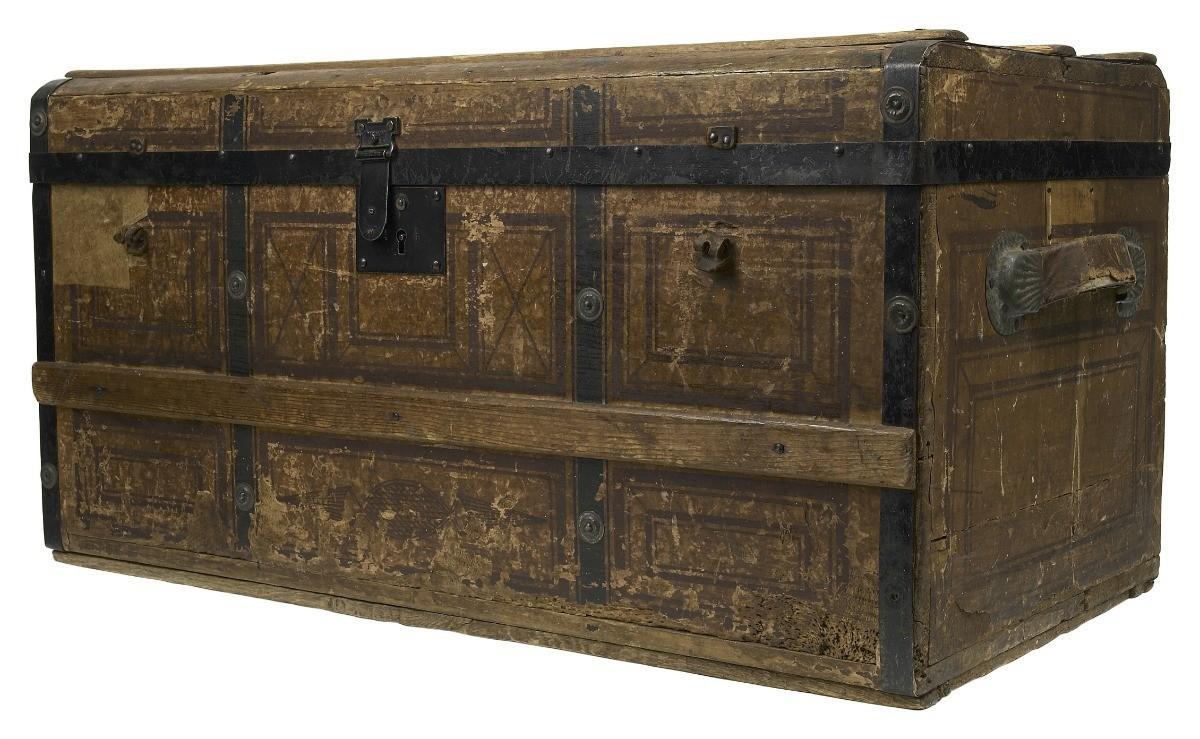 Determining The Value Of An Antique Steamer Trunk Thriftyfun