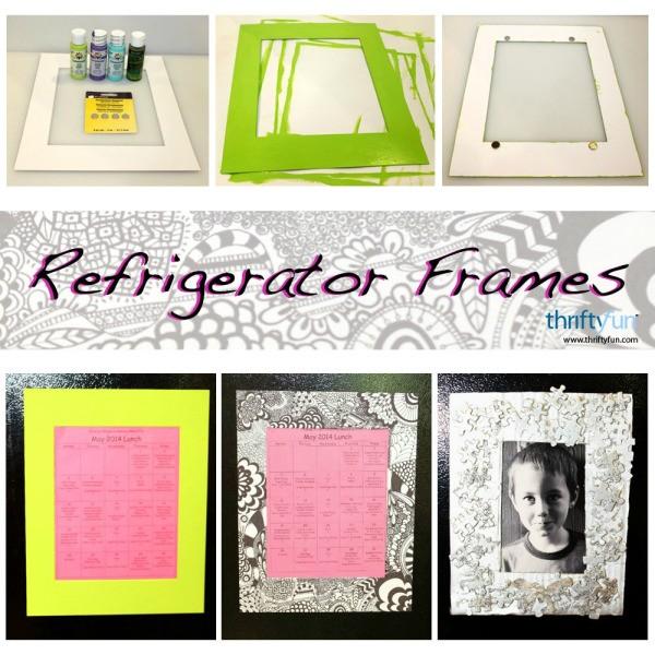 Making Refrigerator Frames | ThriftyFun