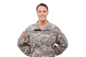 National Guard Woman