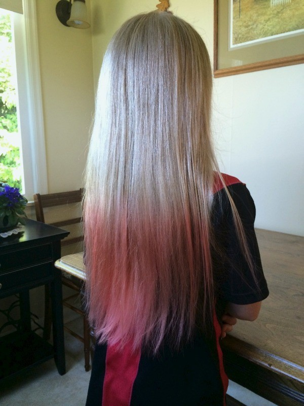 Dip Dye Your Hair With Kool Aid