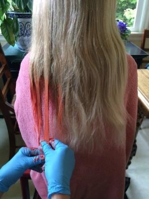 jello in hair