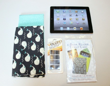 Padded iPad Pouch - supplies