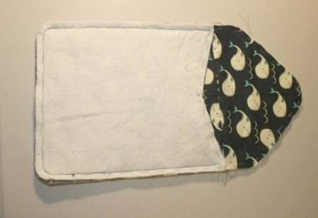 Padded iPad Pouch - sew together