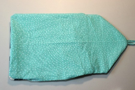 Padded iPad Pouch - lining turned right side out