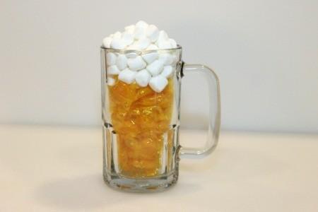 top with mini marshmallows