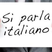 we speak italian si parka italiano