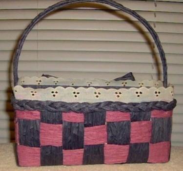 Making A Paper Twist Ribbon Basket Thriftyfun