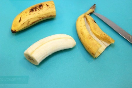 remove banana peel