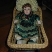 sitting in basket