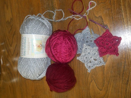 yarn and stars