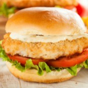 Fried Seafood Sandwich