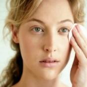 Woman Applying Facial Concealer