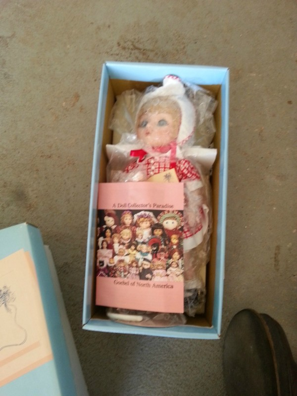 doll in box