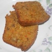 Carrot Pineapple Walnut Quick Bread