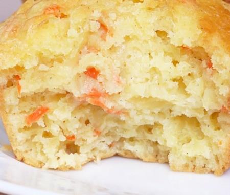 Carrot Pineapple Walnut Bread