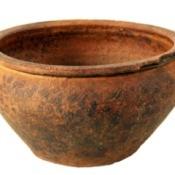 age clay pot