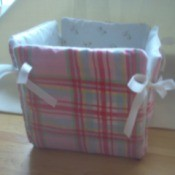 Fabric Covered Gift Boxes