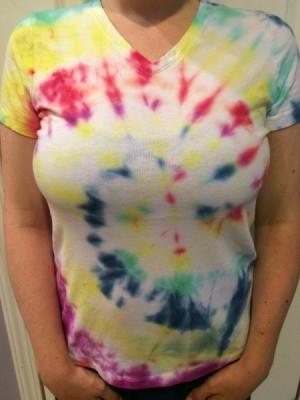 Swirl Tie Dye Pattern
