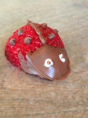Lady Bug Strawberries