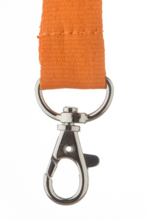orange lanyard