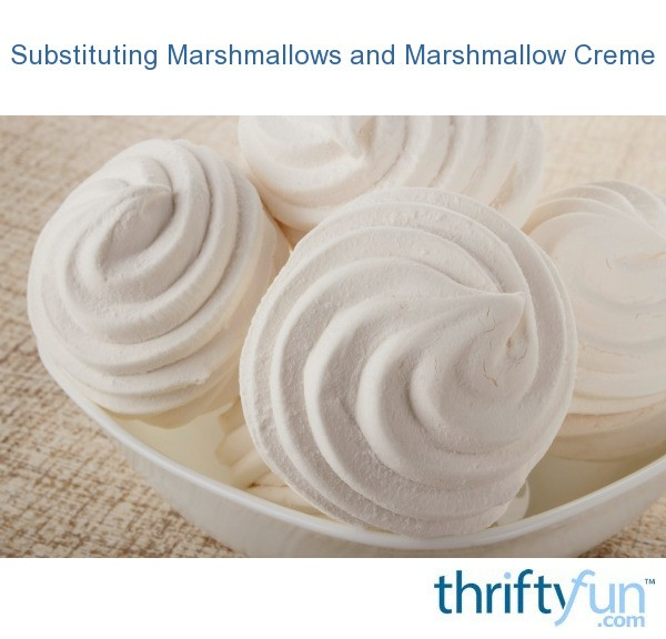 How to Make Marshmallow Cream Using Min. Marshmallows | Recipe | Marshmallow  creme, Marshmallow and Syrup