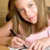 Girl at Vacation Bible School
