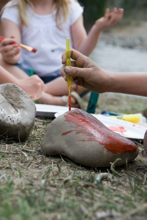Painted Rock Camp Craft