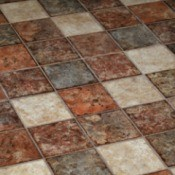 terra cotta tile floor