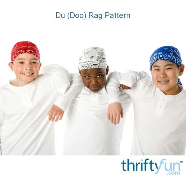 Du (Doo) Rag Pattern