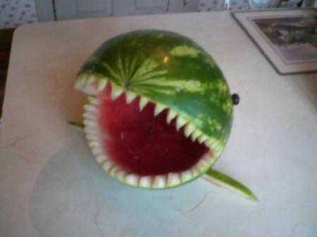 Summer Shark Fruit Bowl