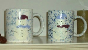 snowman coffee mugs