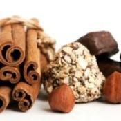 cinnamon, hazelnuts, and chocolate