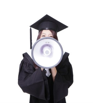 Announcing Graduation with Megaphone
