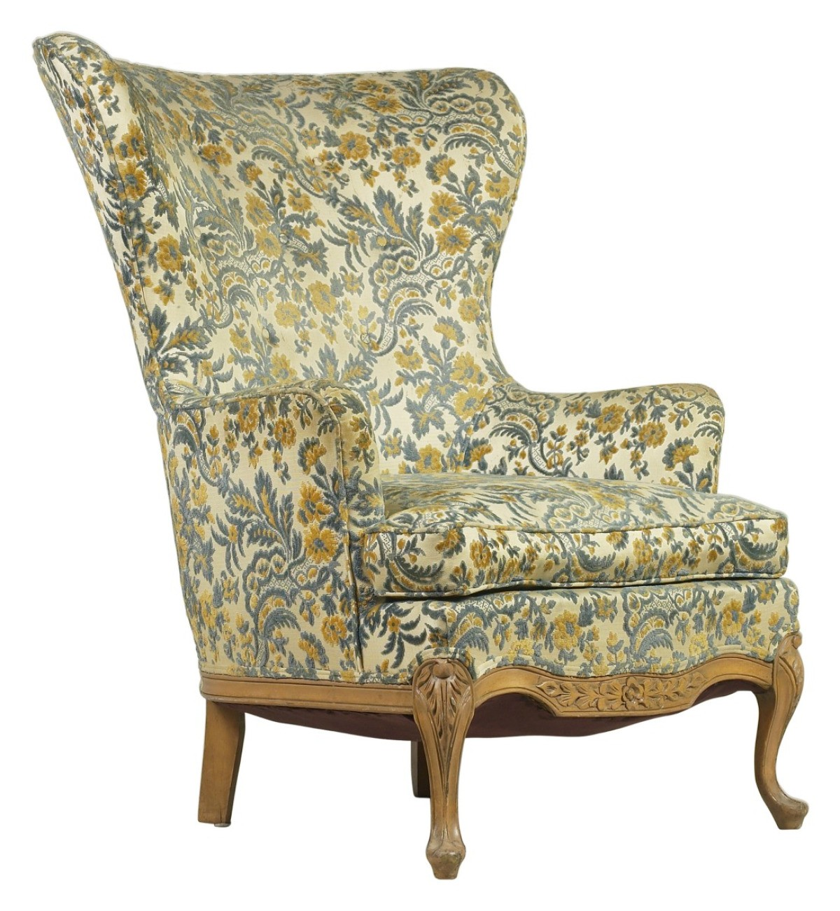 Miraculous Covering A Wing Chair Thriftyfun Pdpeps Interior Chair Design Pdpepsorg