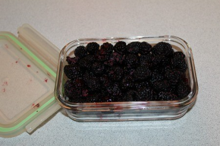Storing Blackberries