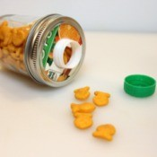 Mason Jar Snack Container