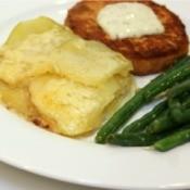 White Cheddar Au Gratin Potatoes