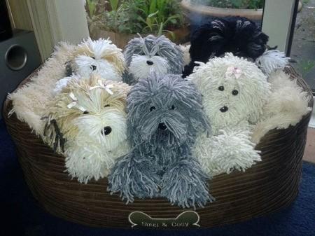 yarn dogs