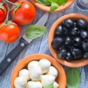 Caprese Wrap Ingredients