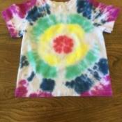 Bulls Eye Tie Dye Shirt