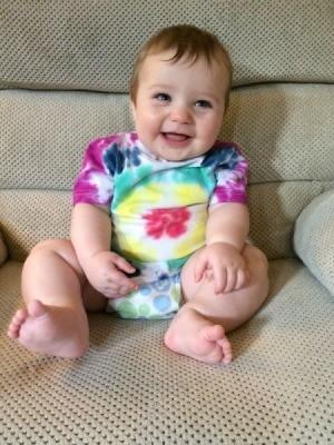 baby wearing shirt