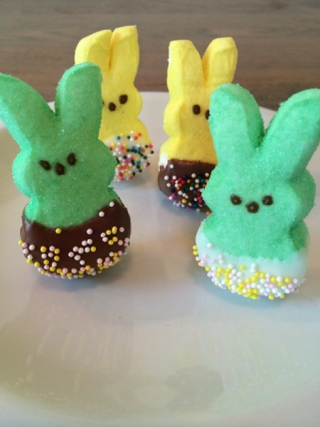 standing dipped bunnies