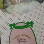 female doll in box