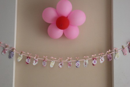 Flower Themed Baby Shower